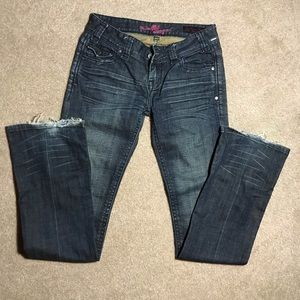 Rock and roll cowgirl jeans